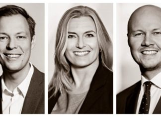 Advokat, Bo Juul Jensen (tv), Partner Rikke Søgaard Berth, Juniorpartner Bo Christensen (th)